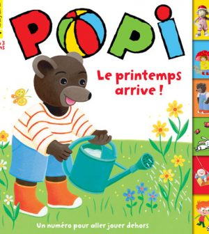 Couverture Popi n°392, avril 2019