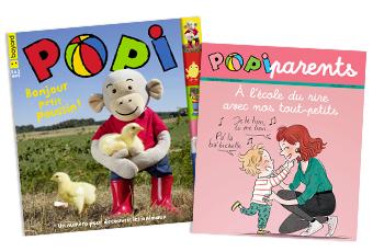 Popi n°393, mai 2019, et son supplément pour les parents.