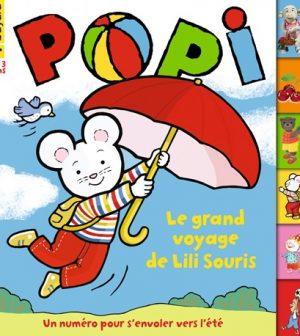 Couverture Popi n°394, juin 2019