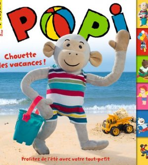 Couverture du magazine Popi n°396, août 2019.