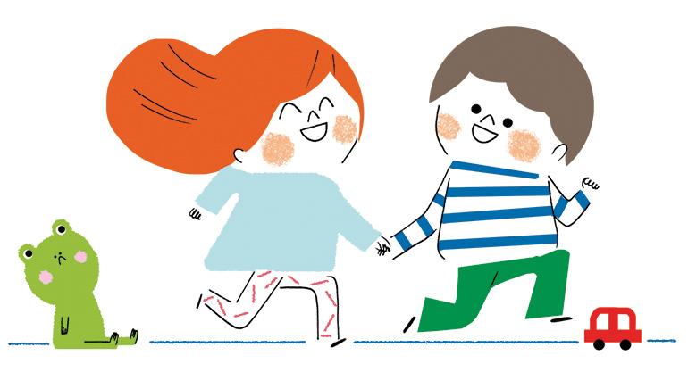 """""""Trop fort, le doudou !"""", supplément pour les parents du magazine Popi n°398, octobre 2019. Texte : Isabelle Vial. Illustrations : Sophie Bouxom."""