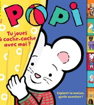 Couverture du magazine Popi n°398, octobre 2019