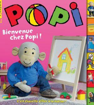 Couverture du magazine Popi n°401, janvier 2020