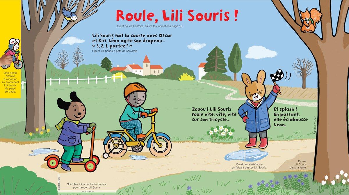 """Téléchargez """"Roule, Lili Souris!"""" - Popi, n°401, janvier 2020"""