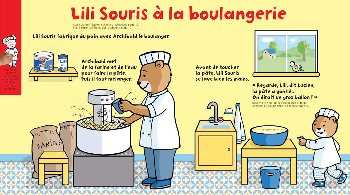 """Téléchargez """"Lili Souris à la boulangerie"""" - Popi, n°403, mars 2020"""