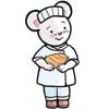 Popi n°403, mars 2020, Lili Souris à la boulangerie
