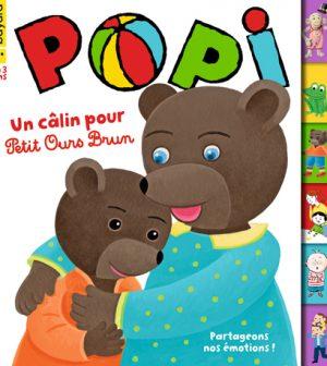 Couverture du magazine Popi n°404, avril 2020