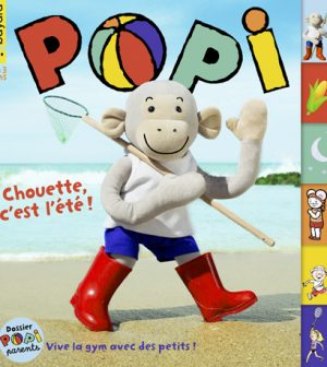 Couverture du magazine Popi n°408, août 2020