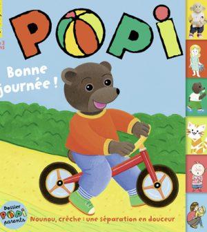 Couverture du magazine Popi n°409, septembre 2020