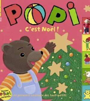 Couverture du magazine Popi n°412, décembre 2020