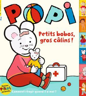 Couverture du magazine Popi n°413, janvier 2021.