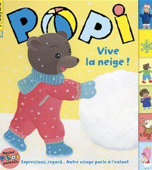 Couverture du magazine Popi n°414, février 2021