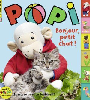 Couverture du magazine Popi n°415, mars 2021