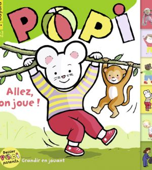 Couverture du magazine Popi n°416, avril 2021
