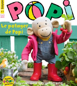 Couverture du magazine Popi n°417, mai 2021