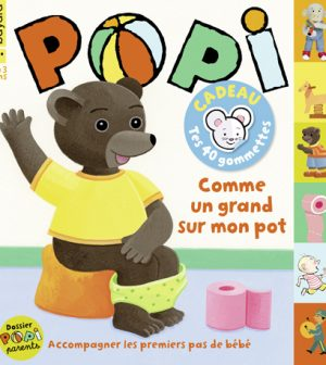 Couverture du magazine Popi n°418, juin 2021
