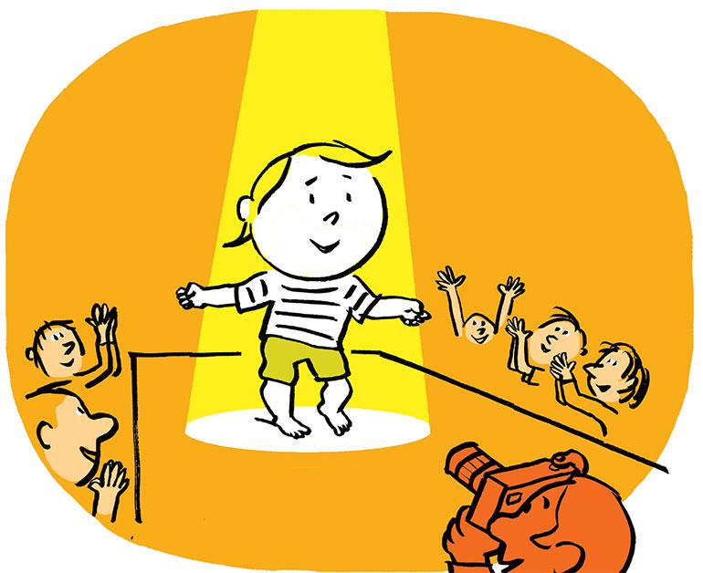 Les enjeux de la marche. Illustration : Pascal Lemaître.