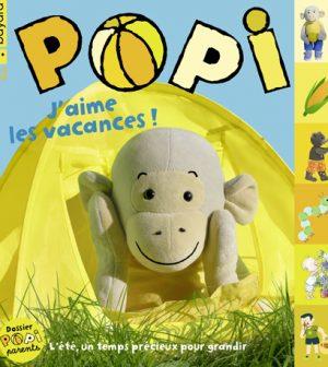 Couverture du magazine Popi n°420, aout 2021