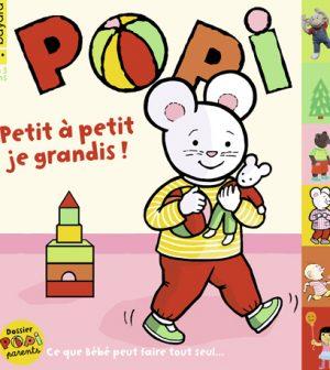 Couverture du magazine Popi n°421, septembre 2021
