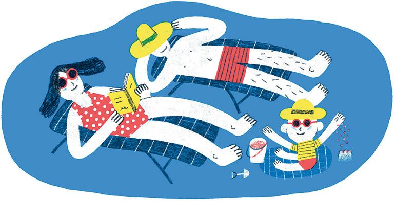 Finie la routine, vive l'aventure ! Illustration : Pablo Luebert.