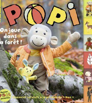 Couverture du magazine Popi n°422, octobre 2021